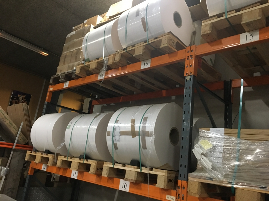 Paper/PE rolls from Walki flexible packaging